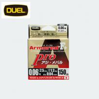 DUEL 듀엘 Armored F + Pro 전갱이 볼락 150m(0.06호~0.4호)