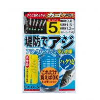 GAMAKATSU 가마가츠 제방 아지 카고 채비 플러스 42509