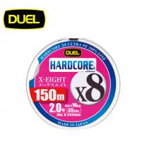 DUEL HARDCORE X8 150M(듀엘 하드코어 8 합사 150M 1호~1.5호)