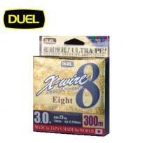 DUEL X-WIRE 8 150M(듀엘 엑스 와이어 8 합사 150M 0.6호~1.5호) 노란색