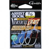 GAMAKATSU ASSIST HOOK VERTIAL LIGHT SHORT SP(가마가츠 어시스트 훅 버티컬 라이트 숏 SP)