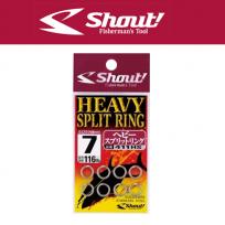 SHOUT HEAVY SPLIT RING 411HS(샤우트 헤비 스플릿 링 411HS)