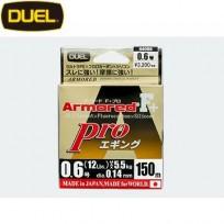 DUEL Armored® F + Pro Eging(듀엘 아머드 F+ 프로 에깅 150M 0.6호~0.8호)