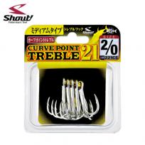SHOUT CURVE POINT TREBLE 21(샤우트 커브 포인트 트레블 21)